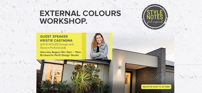 Style Notes External Colours Workshop with Kristie Castagna - August 6th
