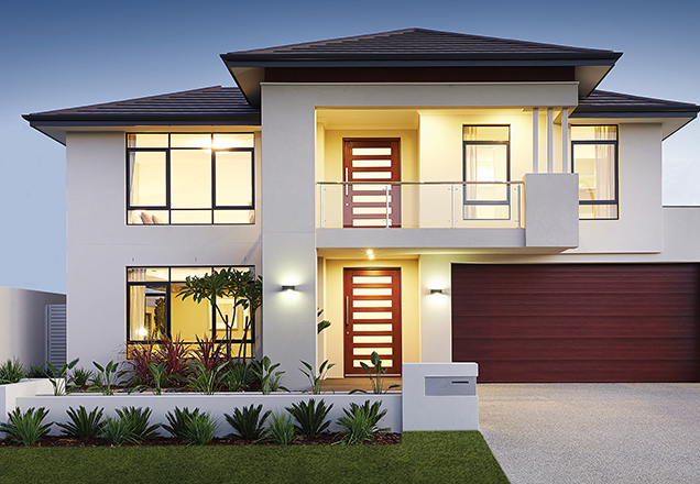 Home designs your two storey home malvernweather Image collections